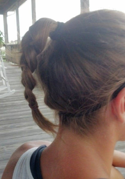 You're only hurting yourself with this hairstyle
